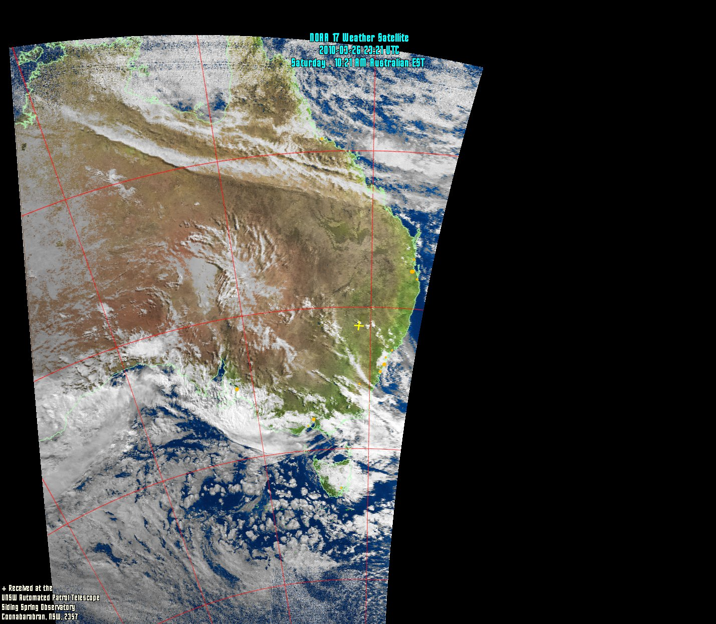 NOAA Satellite Images - Live weather satellite images